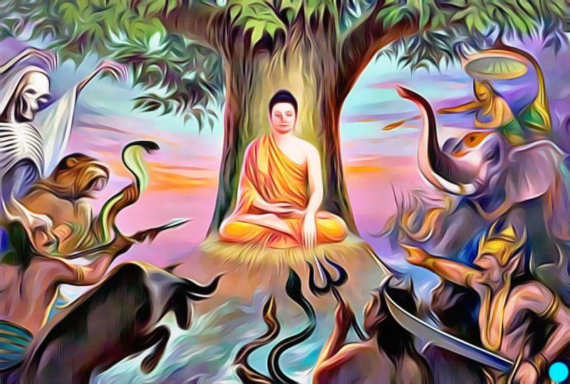 Les démons voulaient empêcher la naissance du bouddhisme