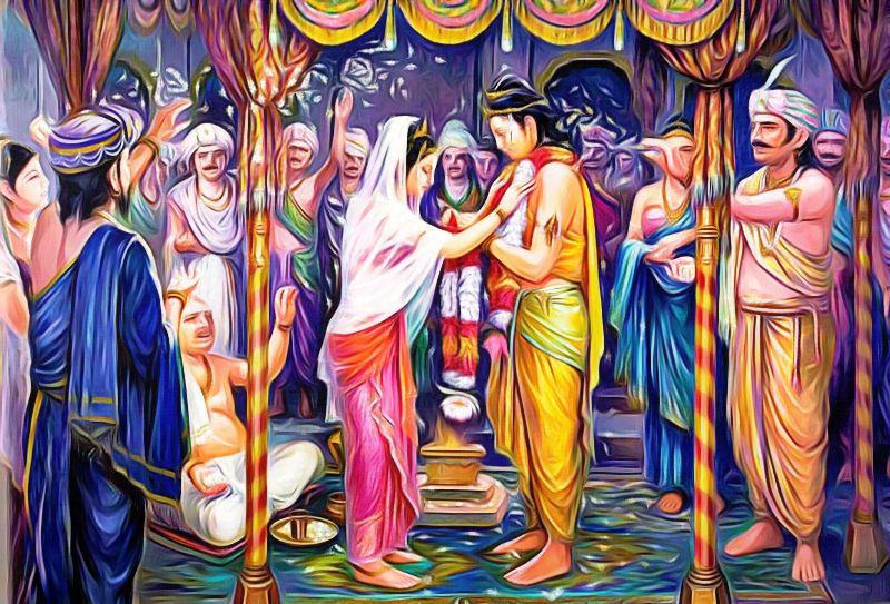 mariage prince siddharta