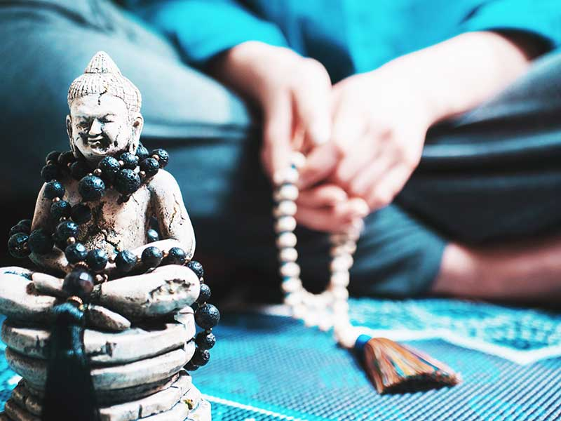 Ce qu'il faut savoir sur le collier mala bouddhiste et tibétain