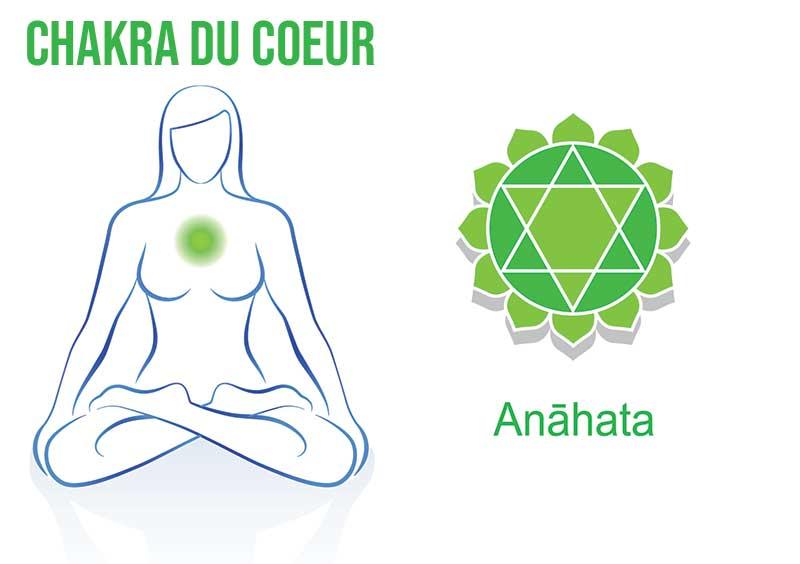 Où se situe le chakra du cœur ? Le quatrième des 7 chakras.