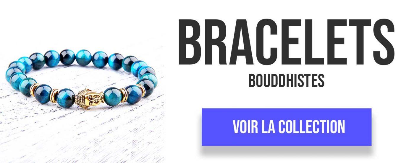 collection bracelets bouddhistes